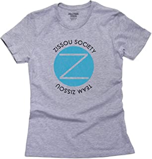 Team Zissou Society Iconic Seal Womens 100% Cotton T-Shirt