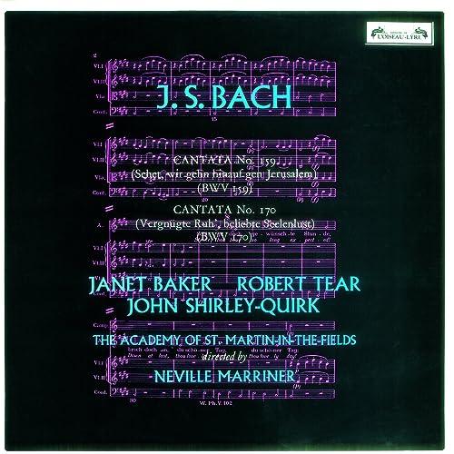 Bach, J.S.: Cantatas Nos. 159 & 170 de Dame Janet Baker ...