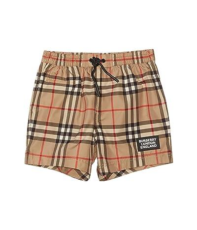 Burberry Kids Kameron Check Swim Shorts (Infant/Toddler)