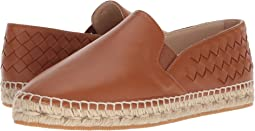 Bottega Veneta Intrecciato Leather Espadrille