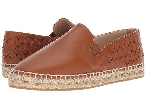 Bottega Veneta Intrecciato Leather Espadrille