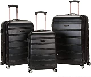 Luggage Melbourne 3 Pc Abs Set, Black