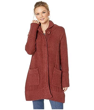 Prana Elsin Sweater Coat (Mulled Wine) Women