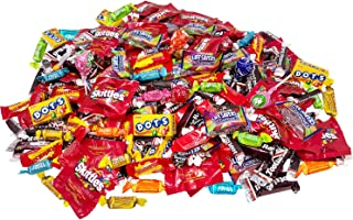 Assorted American Candy Classics Over 13 Favorite Flavors 11 Lb Variety Bulk Value Pack Skittles Tootsies Starburst Lifesavers Gummy Rings And More (176 oz)