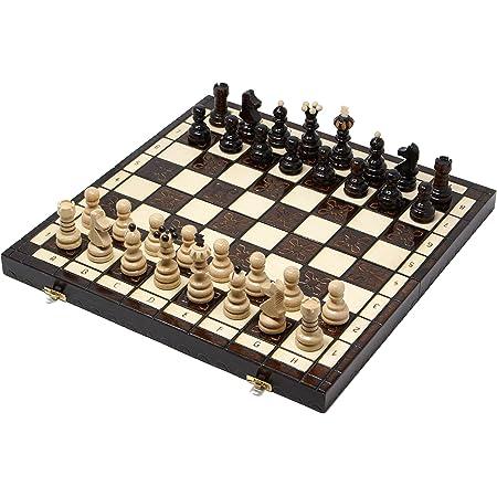 チェスジャパン 木製チェスセット クラクフ 42cm