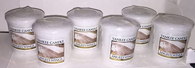 Yankee Candle Lot of 6 Angel's Wings Votives