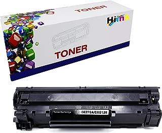 HIINK Compatible Toner Cartridge for HP CE278A 78A Canon CRG128 use in LaserJet Pro P1560 P1566 P1600 P1606 M1536 Canon imageclass D530 D550 FaxPhone L100 L190 MF4770n MF4570dw MF4770N (Black, 1-Pack)