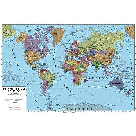 Stati Uniti Cartina Fisica E Politica.Carta Geografica Murale America Settentrionale 100x140 Bifacciale Fisica E Politica Amazon It Cancelleria E Prodotti Per Ufficio