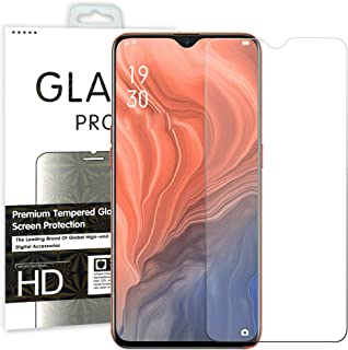 [2 Pack] MEZON Crystal Clear Premium 9H HD Tempered Glass Screen Protector for Realme C3 – Case Friendly, Shock Absorption...