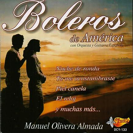 Boleros De America Con Orquesta Y Guitarra Espanola