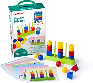 Miniland Abacolor Maxi Activity Set