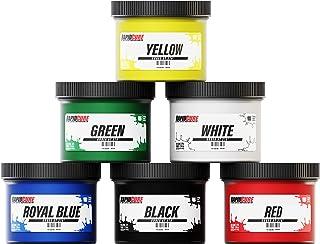 Kit de tinta Plastisol padrão Rapid Cure para serigrafia de baixa temperatura 170 – frascos de tinta de 236 ml da Screen P...