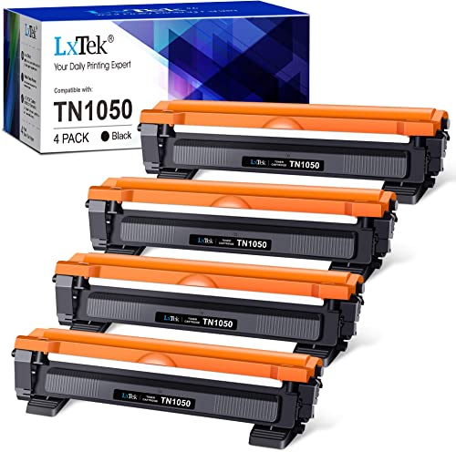 LxTek TN1050 Cartouches de Toner Compatible pour Brother TN1050 TN-1050 TN 1050 pour Brother HL-1110 DCP-1510 DCP-161...