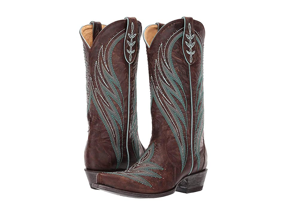 Old Gringo Chatham (Brass/Blue) Cowboy Boots