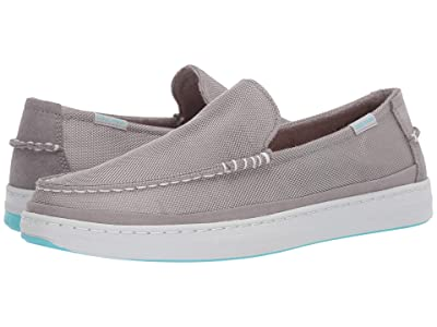 Cole Haan Cloudfeel Slip-On Sneaker (Glacier Grey Nylon/True Blue) Men