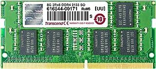 Transcend ノートPC用メモリ PC4-17000(DDR4-2133) 8GB 1.2V 260pin SO-DIMM TS1GSH64V1H