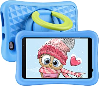 8 inch Kids Tablet, Android OS, 2GB RAM, 32GB ROM, Kidoz Pre Installed,Kid-Proof Case, WiFi Tablet, Blue