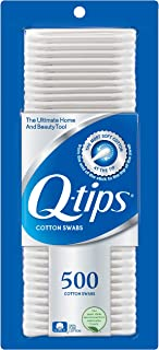 Q-tips Cotton Swabs For Hygiene and Beauty Care Original Cotton Swab Made With 100% Cotton 500 Count