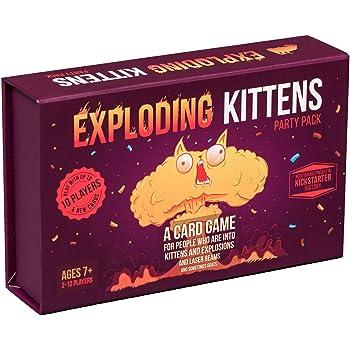 Exploding Kittens Party Pack - Gioca Massimo di 10 Giocatori! (Edizione Inglese)