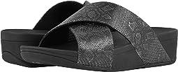 Lulu Python Print Slide Sandals