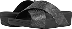 FitFlop Lulu Python Print Slide Sandals