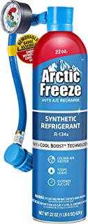 Arctic Freeze Ultra Synthetic Automotive Refrigerant 134a+ (22 ounces)