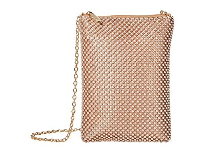 Jessica McClintock Gina (Rose Gold) Clutch Handbags