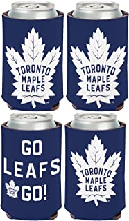WinCraft NHL Toronto Maple Leafs 2 Pack 12 oz. 2-Sided Can Coolers