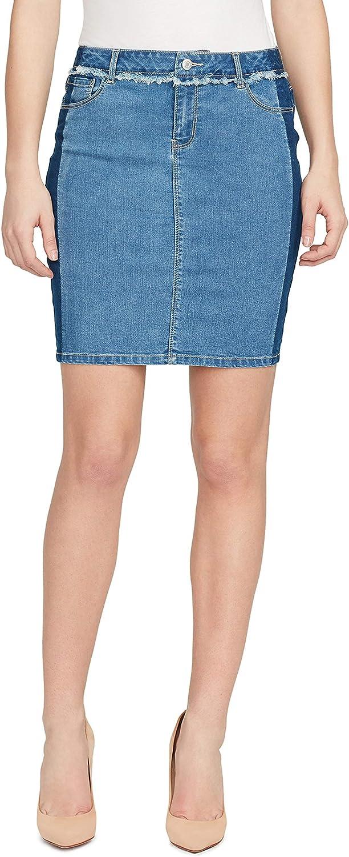 Black Daisy Womens Shadow Stripe Mini Skirt Skirt