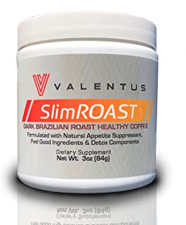 Valentus Brazilian Slim Roast Coffee - Dark Roast 3 Oz. Canister (24 Servings)