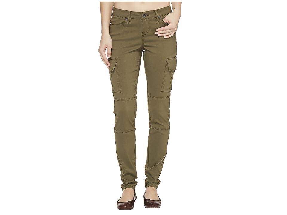 Prana Meme Pants (Cargo Green) Women