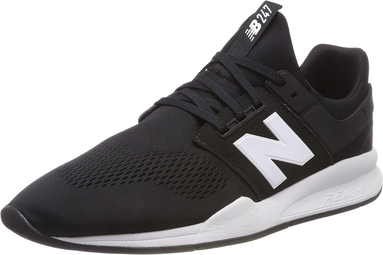 New Balance Men's 247v2 Turnschuhe, schwarz Weiß Munsell, 13 2E US