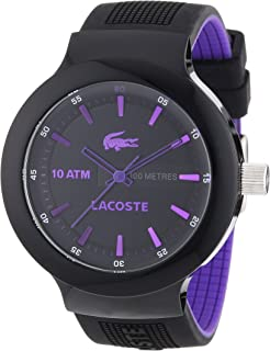 Lacoste 2010659 Mens Black Borneo Watch