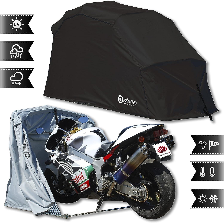 Motorrad Faltgarage - Motomonster faltbare motorradgarage L Schwarz