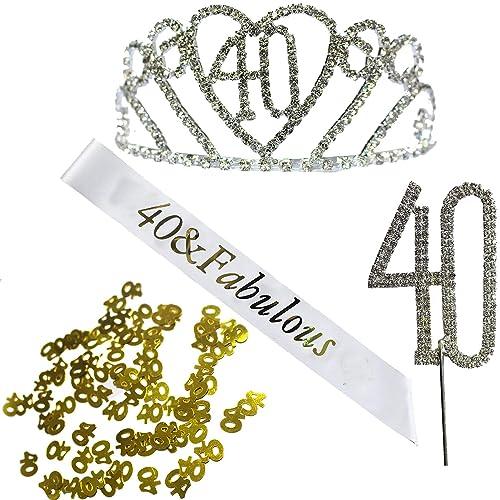 KaKaxi Princess Birthday Hair Accessories Set