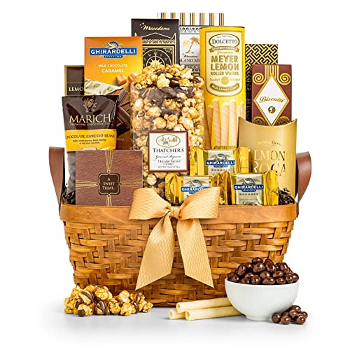 GiftTree As Good Gold Gourmet Food Snack Gift Basket