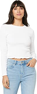 Sass Women's Into You Shirred Top
