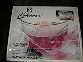 Anchor Hocking 10 Piece Entertainers Punch Party Set