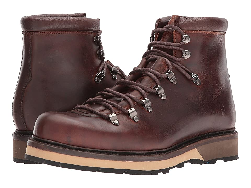 Frye Woodson Arctic Grip (Redwood Smooth Full Grain/Soft Vintage Leather) Men