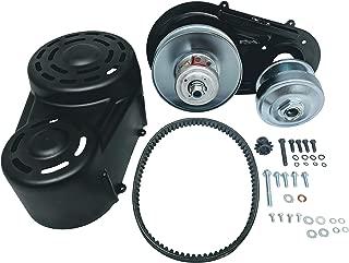 go kart torque converter belt chart