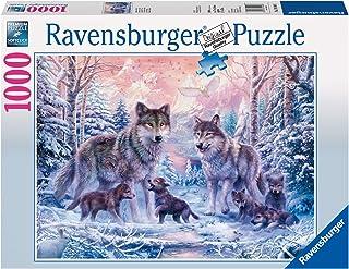 Ravensburger - 19146 - Puzzle Classique - Loups Arctiques - 1000 Pièces