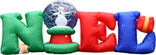 giant inflatable snow globe