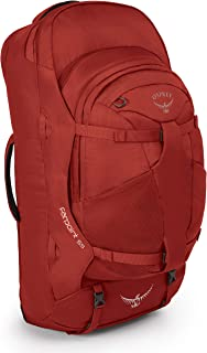 Osprey Packs Farpoint 55 Travel Backpack, Jasper Red, Small/Medium