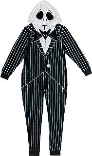 Men's Jack Skellington Hooded Union Suit