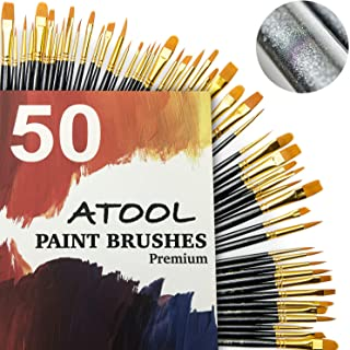 Best acrylic brush sets Reviews