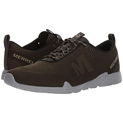 Merrell Versent Kavari Lace Knit (Dusty Olive) Men
