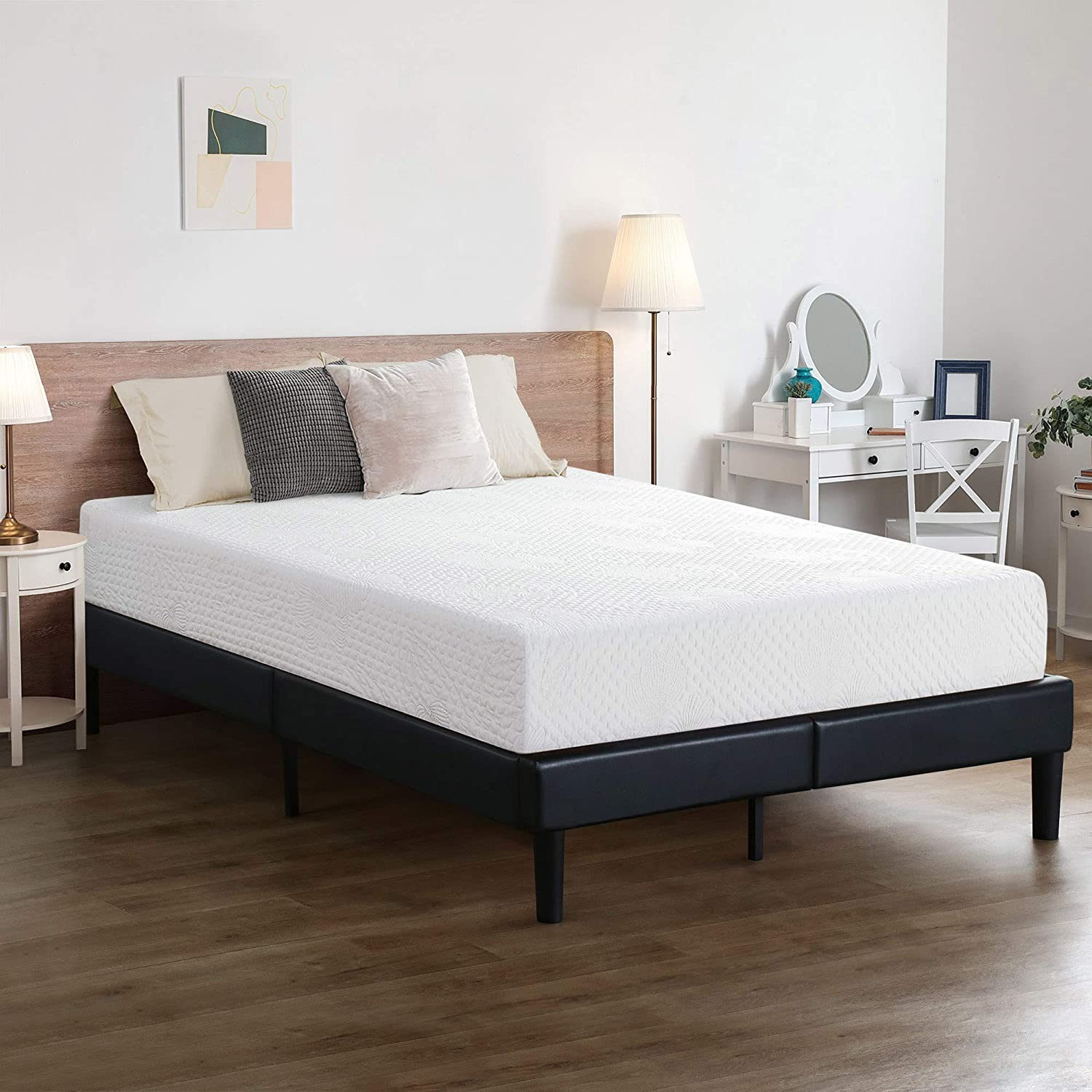 Olee All items free shipping Sleep 6 inch Ventilated Memory Mattress Foam Layered Max 66% OFF Multi