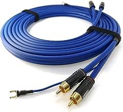 Amazon.es: cables para tocadiscos con toma tierra