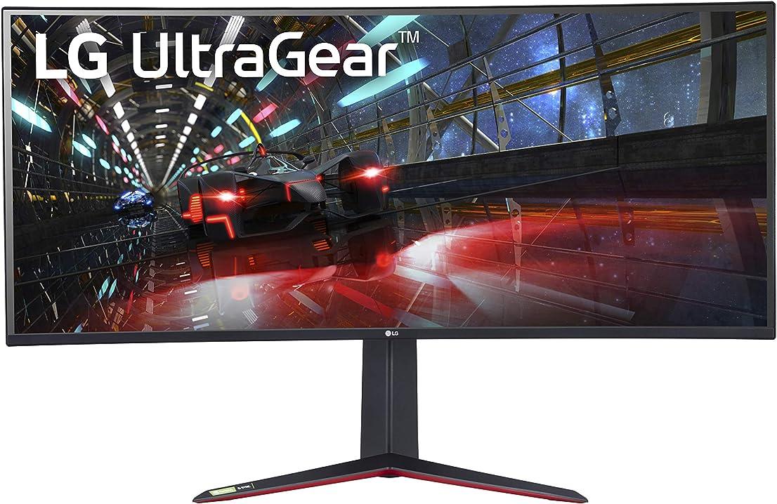 Monitor pc curvo 38 pollici lg 38gn950 ultragear monitor gaming 38