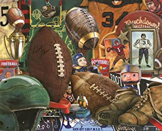 Springbok's 1000 Piece Jigsaw Puzzle Vintage Football - Made in USA